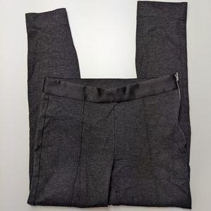 Everlane Stretchy Zip Side Work Career Pant Grey 6